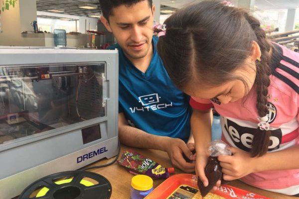 Impresión 3D para niños
